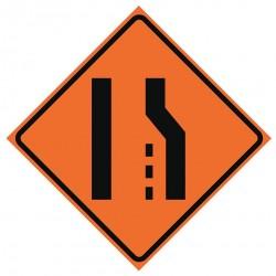 Usa-sign - 669-C/36-NRVFO-RS - Road Traffic Control, No Header, Vinyl, 36 x 36