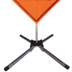 Usa-sign - 669-C-602-S-KLSH - Sign Stand, Aluminum