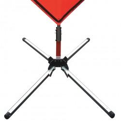 Usa-sign - 669-C-901-S-KLSH - Sign Stand, Aluminum