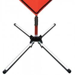 Usa-sign - 669-C-202-S-KLSH - Stand/Steel/leaf spring/lrg base/KL