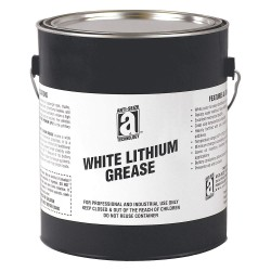 Anti-Seize - 24205 - White Lithium Bearing Grease, 5 lb., NLGI Grade: 2