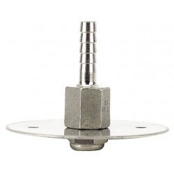 Dwyer Instruments - A-414 - Static Pressure Fitting, 316SS CleanRoom