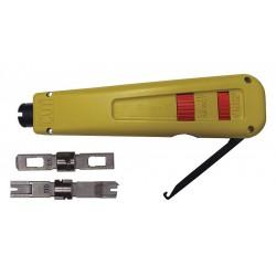 Jonard - EPD-91461 - Punchdown Tool, Hi/Low Impact, Spring Loaded, Hook/Spudger, 110 & 66 Dual Blade
