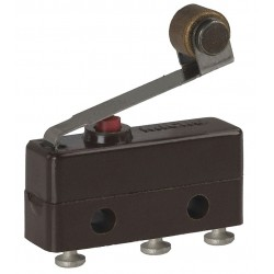 Honeywell - 111SM2-T - 5A @ 240V Lever, Roller Miniature Snap Action Switch; Series SM