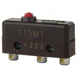 Honeywell - 11SM1 - 5A @ 240V Pin, Plunger Miniature Snap Action Switch; Series SM