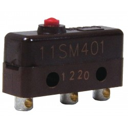 Honeywell - 11SM401 - 5A @ 240V Pin, Plunger Miniature Snap Action Switch; Series SM