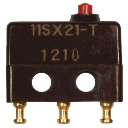 Honeywell - 11SX21-T - 5A @ 240V Pin, Plunger Miniature Snap Action Switch; Series SX