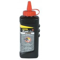 Stanley / Black & Decker - 47-821 - Marking Chalk Refill, Waterproof, Red, 8 oz