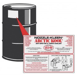 Weld-Aid - 007028 - Wa 007028 Artic Cool Anti Spatter 55 Gal Drum