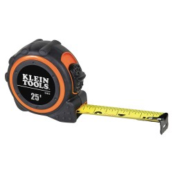 Klein Tools - 93025 - Klein 93025 25-Feet Durable Steel Non-Magnetic Single Hook Tape Measure