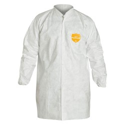 DuPont - TY303SWH4X005000 - Disposable Shirt, 4XL, White, PK50