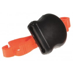 Proto - JPPEGLVPOU - Orange/Black Tethered Glove/Ear Plug Pouch, Rubber/Plastic