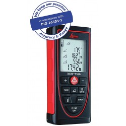 Leica Geosystems - E7400X - Laser Distance Meter 395 ft. Max. Distance, 1/16 Accuracy