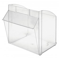 Quantum Storage Systems - QTB301CUP - Repl. Bin Cup for Mfr. No. QTB301, Clear