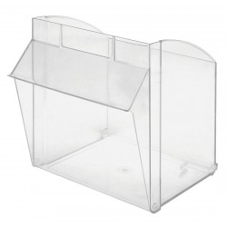 Quantum Storage Systems - QTB302CUP - Repl. Bin Cup for Mfr. No. QTB302, Clear