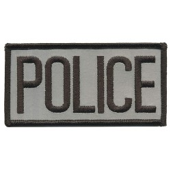 Heros Pride - 10300 - Rayon/Polyester Embroidered Patch, Law Enforcement, All Others Industry Type, Chest Patch Type