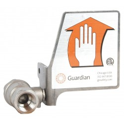 Guardian Equipment - AP620-101H - Sst 1/2In. Ball Valave with Handle