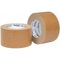 Shurtape - FP 097 - Masking Tape, 55m x 72mm, Kraft, 6.00 mil, Package Quantity 16