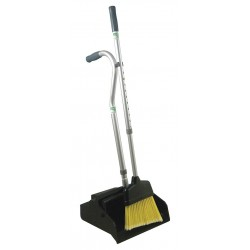 Unger - EDTBG - Telescopic Dust Pan with Broom, Plastic