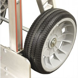 B & P Manufacturing - 8023-056 - 10 Light-Medium Duty Sawtooth Tread Pneumatic Wheel, 300 lb. Load Rating