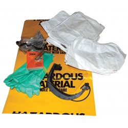 Enpac - 13-PPE - Biohazard Spill Kit, 15, Zip Bag