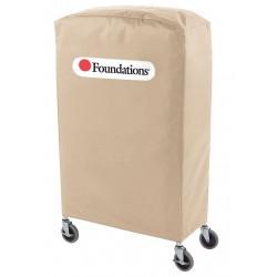 Foundations - 97NNT1 - Nylon Compact Crib Cover, Tan; PK1