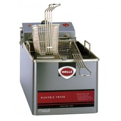 Wells Bloomfield / CCR - LLF14-120 - Nickel Plated Electric Fryer