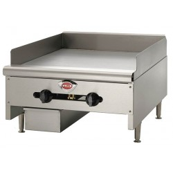 Wells Bloomfield / CCR - HDTG2430 - 24-1/8 x 31-11/16 x 17 Gas Griddle w/Thermostat