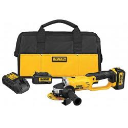 Dewalt - DCG412P2 - 4-1/2 20V MAX Cordless Angle Grinder Kit, 20.0 Voltage, 8000 No Load RPM, Battery Included