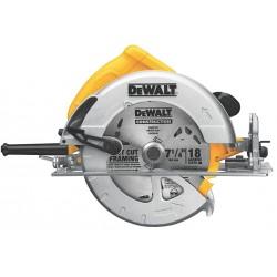 Dewalt - DWE575SB - 7-1/4 Circular Saw, 5200 No Load RPM, 15.0 Amps, Blade Side: Right