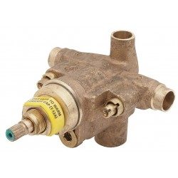 Symmons - S-86-2-BODY-X - Brass Shower Mixing Valve Body, Temptrol, For Use With Symmons