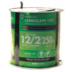 Southwire - 55213402 - Landscape Cord.12/2, 500Ft