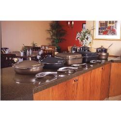 Spring USA - 2382-587/36 - Sauteuse Buffet Server, Bronze w/Black