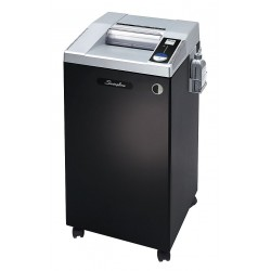 Acco Brands - 1753290B - Swingline Paper Shredder - Continuous Shredder - 10 Per Pass - for shredding Paper - 31.3 mil x 0.19 Shred Size - P-6 - 10 Throat - 30 gal Wastebin Capacity - Gray