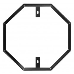 Tapco - 034-36000 - Sign Hardware, Aluminm, Blck, 36 in Octagon