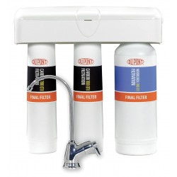 DuPont - WFQT390005 - 1/4 Quick Connect Plastic Water Filter System, 1 gpm, 90 psi