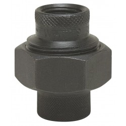Watts Water Technologies - 1 1/2 LF3006 - 1-1/2 Black Malleable Iron Dielectric Union with FIP x FIP Fitting Connection Type