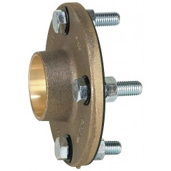Watts Water Technologies - 3 LF3110 - 3 Brass Dielectric Flange with Solder Fitting Connection Type