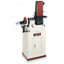 JET Tools / Walter Meier - 708597K - Jet 708597K 6 x 48 Belt / 9 Disc Sander with Closed Stand, 3/4HP 1Ph, 115V 708597K