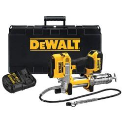 Dewalt - DCGG571M1 - 20.0 Volt Cordless Grease Gun, 10, 000 psi, 37.0 Strokes per oz., Cartridge, Bulk, Suction Loading, F