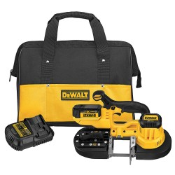 Dewalt - DCS371P1 - DeWALT DCS371P1 20V MAX Lithium-Ion 5 Ah Cordless Band Saw Kit with Battery and Charger