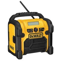 Dewalt - DCR018 - DeWALT DCR018 Compact Worksite Radio - 12V, 18V or 20V MAX battery powered (Non-Charging)