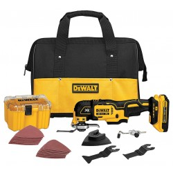 Dewalt - DCS355D1 - DeWALT DCS355D1 20-Volt MAX Lithium-Ion Cordless Oscillating Multi Tool Kit