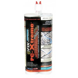 Protective Coating (PC) - 096000 - Gray Joint and Crack Filler, 22 oz. Dual Cartridge, Coverage: Not Specified