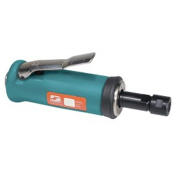 Dynabrade - 51300 - Front Exhaust Straight Air Die Grinder, 1/4 Collet, 15, 000 rpm Free Speed, 0.5 HP