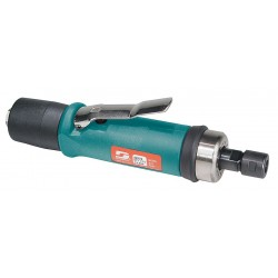 Dynabrade - 52276 - Rear Exhaust Straight Air Die Grinder, 1/4 Collet, 15, 000 rpm Free Speed, 0.7 HP