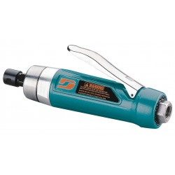 Dynabrade - 52666 - Rear Exhaust Straight Air Die Grinder, 1/4 Collet, 12, 000 rpm Free Speed, 1.0 HP