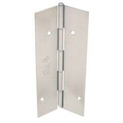 Markar - FM300MB 83-1/8 - 83-1/8 x 4-1/2 Butt Hinge with Dull Stainless Steel Finish, Full Mortise Mounting