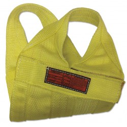 Stren-Flex - WB2-912-18 - 18 ft. Heavy-Duty Nylon Cargo Basket Web Sling, Yellow