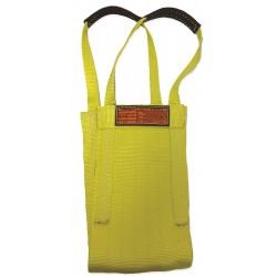 Stren-Flex - LB1-908-18 - 18 ft. Heavy-Duty Nylon Cargo Basket Web Sling, Yellow